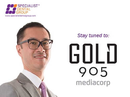 Dr Steven Soo shares on whether dental xrays are safe on Gold 905FM