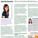 Maple Leaf Times, March 2016: What to do if teeth shift after braces